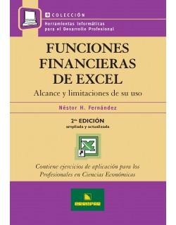 FUNCIONES FINANCIERAS DE EXCEL 2ºED.