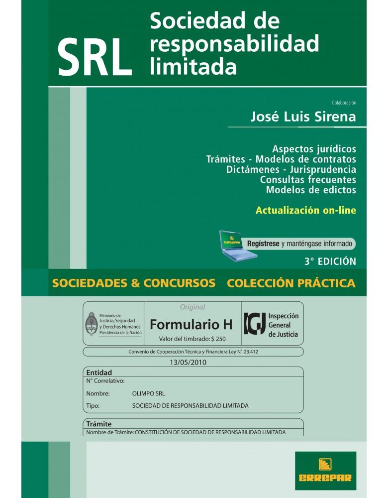 SOCIEDAD DE RESPONSABILIDAD LIMITADA 3º ED.