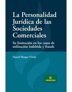 La Personalidad Jurídica de las Sociedades Comerciales