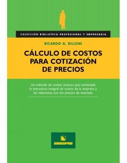 Cálculo de Costos para Cotización de precios