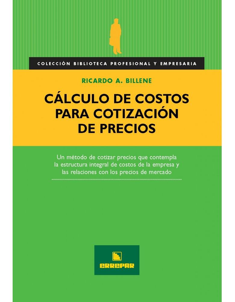 CALCULO DE COSTOS PARA COTIZACION DE PRECIOS