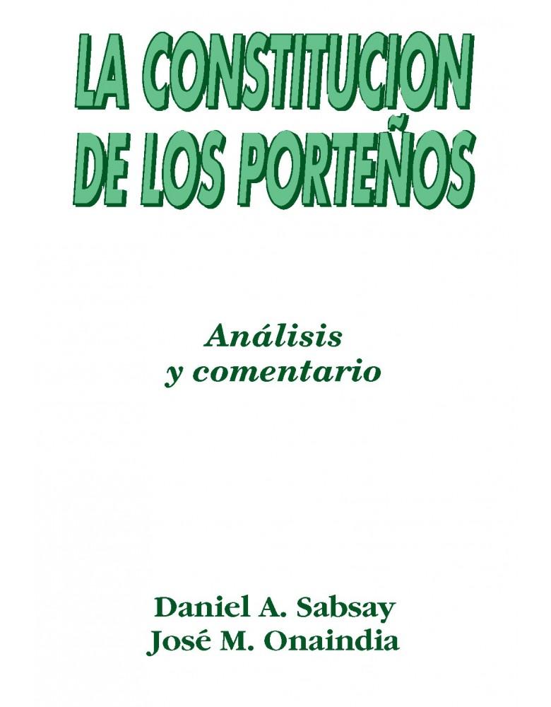 CONSTITUCION DE LOS PORTEÑOS, LA