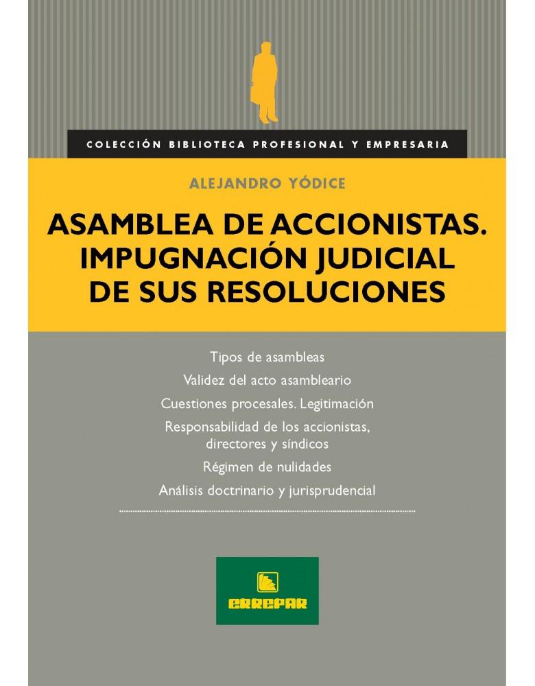 ASAMBLEA DE ACCIONISTAS IMPUGNACION...