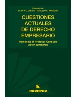 CUESTIONES ACTUALES DE DERECHO EMPRESARIO