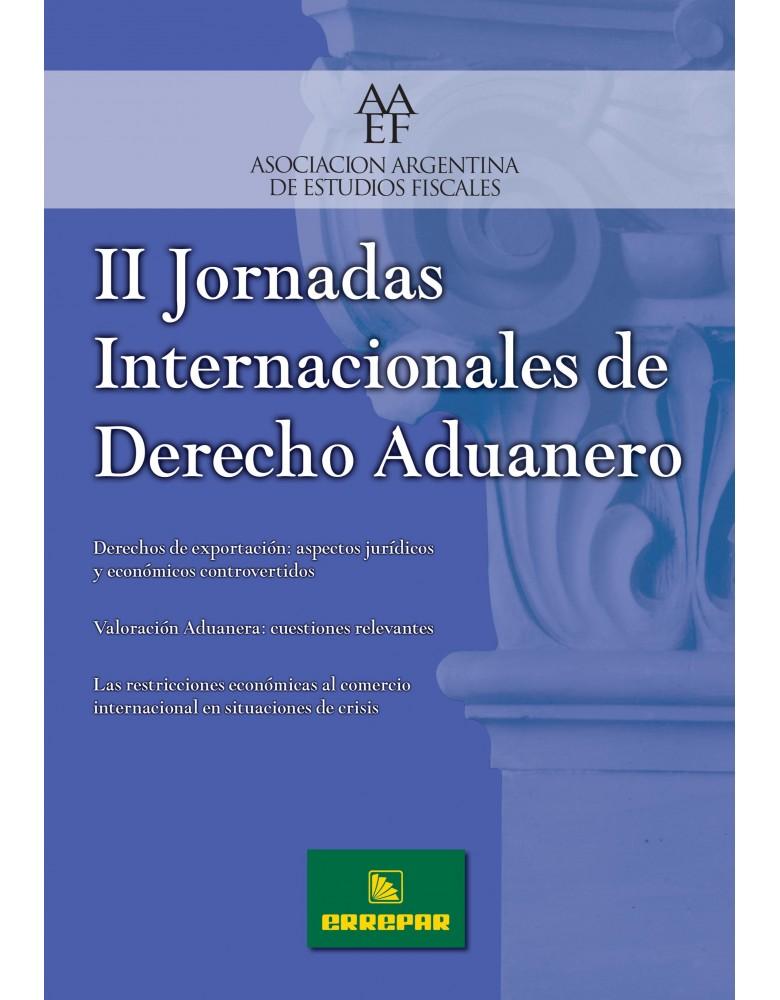 II JORNADAS INT. DE DERECHO ADUANERO