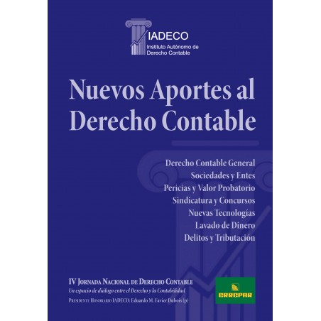 Nuevos aportes al derecho contable - IV JNDC
