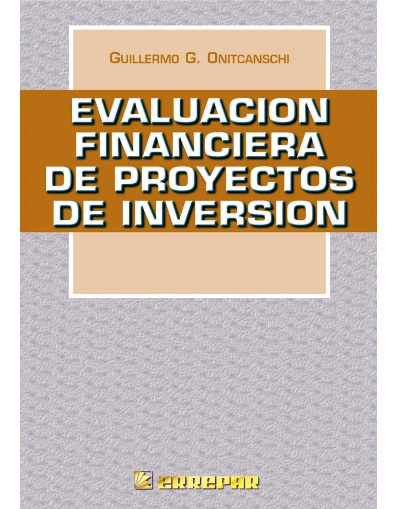 EVALUACION FINANCIERA DE PROYECTOS DE INV.