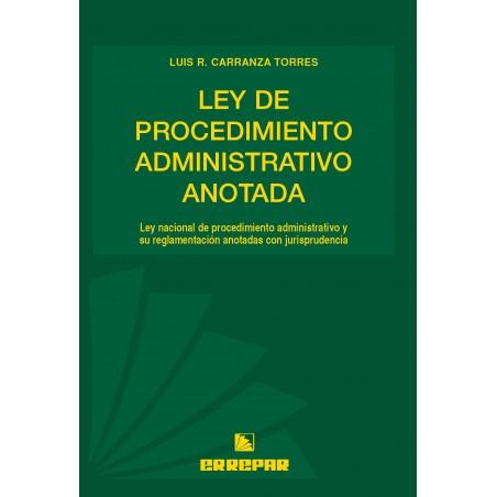 Ley de Procedimiento Administrativo Anotada