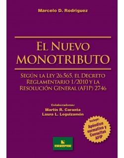 NUEVO MONOTRIBUTO,EL (RODRIGUEZ)