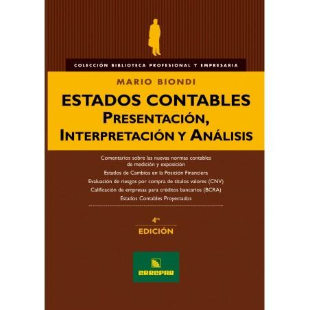 Estados Contables. Presentación, Interpretación y Análisis