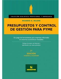 PRESUPUESTOS Y CTRL DE GESTION PARA PYME 2ºED