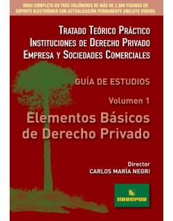 ELEMENTOS BASICOS DEL DERECHO PRIVADO(1ª EDI)
