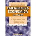 EMERGENCIA ECONOMICA. LEY 25344