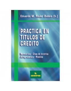Práctica en Títulos de Crédito