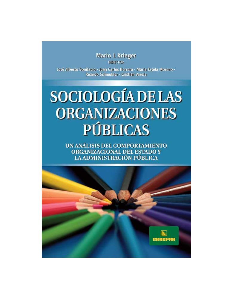 Sociología de las organizaciones públicas