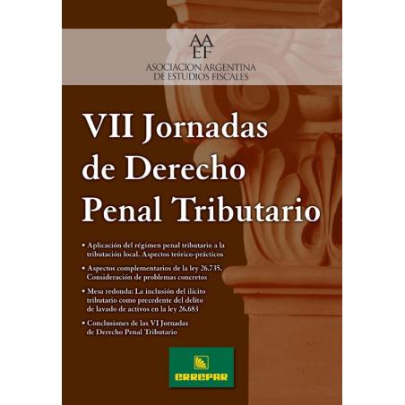 VII Jornadas de Derecho Penal Tributario