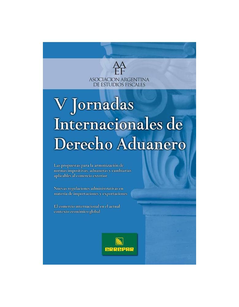 V Jornada de Derecho Aduanero