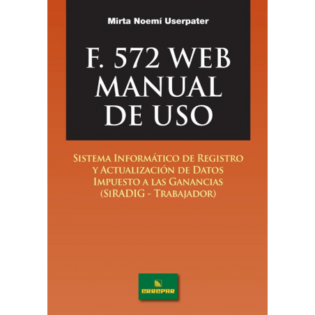 Formulario 572 Web - Manual de uso