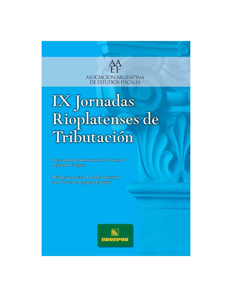 IX Jornadas Rioplatenses de Tributación