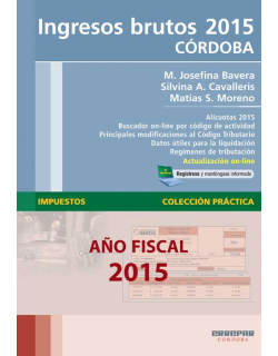 Ingresos Brutos 2015 - Córdoba