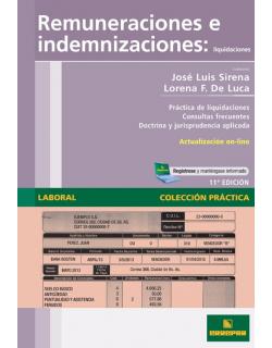 Remuneraciones e indemnizaciones: Liquidaciones