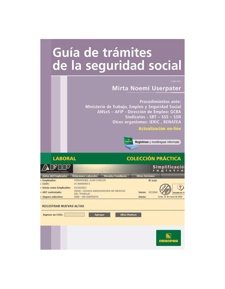Guía de trámites de la seguridad social