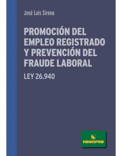 Promoción del empleo registrado y prevención del fraude laboral