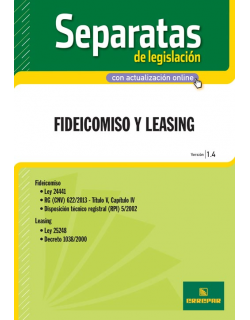 Separata Fideicomiso y Leasing