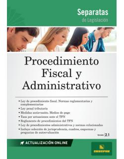 Separata de Procedimiento fiscal y administrativo
