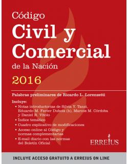 Código Civil y Comercial de la Nación 2016
