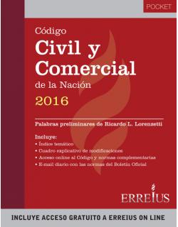 Código Civil y Comercial de la Nación 2016 - Pocket