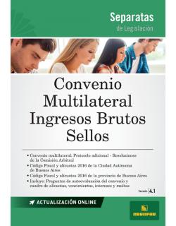 SEPARATA DE CONVENIO MULTILATERAL - IIBB - SELLOS 4.1