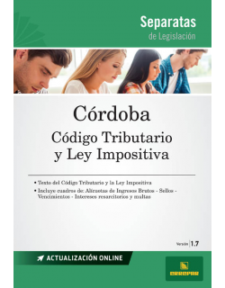 Separata la Provincia de Córdoba - Código tributario y ley impositiva