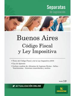 Separata de la Provincia de Buenos Aires, Código Fiscal : versión 1.9
