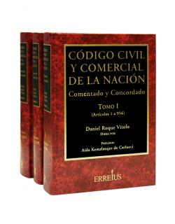 Código Civil y Comercial de la Nación - Comentado y Concordado - 3 Tomos - Edición Tapa Dura