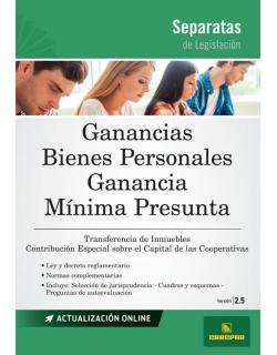 SEP. GANANCIAS - BIENES PERSONALES - GMP 2.5