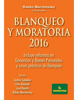 Preventa Blanqueo y Moratoria 2016