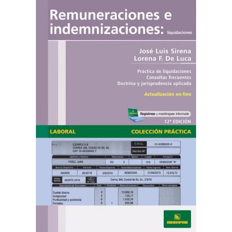 Remuneraciones e indemnizaciones