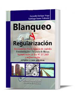 Blanqueo y Regularización 2016