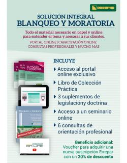 Pack Blanqueo y Moratoria