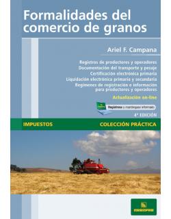 Formalidades del comercio de granos