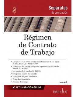 Separata de Régimen de Contrato de Trabajo