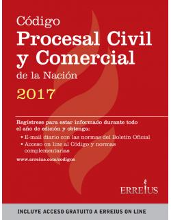 Código Procesal Civil y Comercial de la Nación 2017 - Rustico