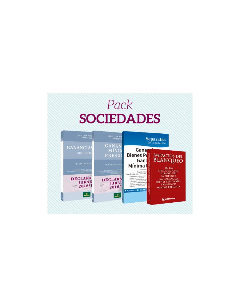 Preventa Pack 2: Sociedades 2015