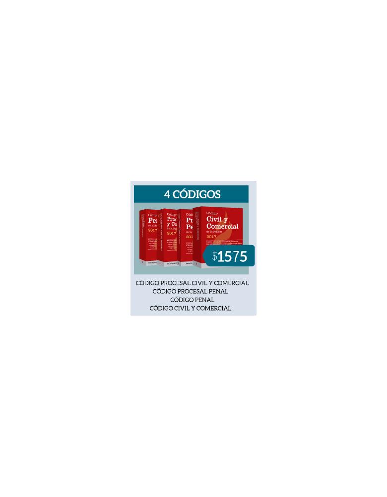 Pack 4 Códigos - Formato rustico