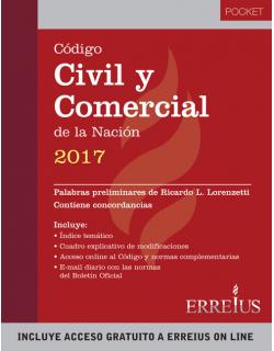 Código Civil y Comercial de la Nación 2017 - Formato pocket