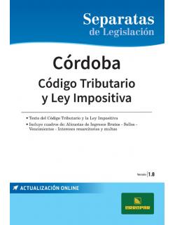 Separata de la Provincia de Córdoba - Código fiscal y ley impositiva
