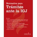 Normativa para Trámites ante la IGJ
