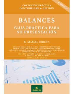 Balances - Guía práctica para su presentación