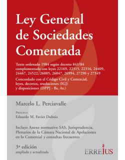 Ley general de sociedades comentada - Formato Cartone